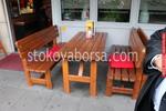 Маси с пейки от дърво за заведения