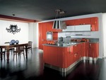 дизайнерски мебели с овални форми в ярки цветове