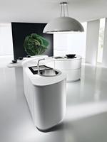 дизайни на мебели с извит бар плот