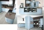 гланцови заоблени мебели луксозен дизайн