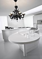 мдф дизайнерски извити мебели