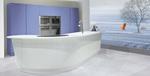 интериори на луксозни кухни със заоблени врати