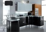 мдф мат дизайнерски извити кухни