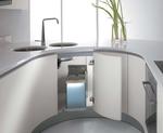 дизайнерски извити кухни по размер