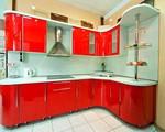 матови кухни с овални форми в ярки цветове