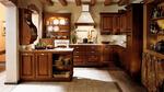 поръчкови кухни с дървесен фладер