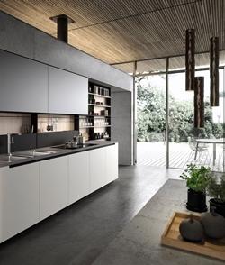 Права кухня на една стена