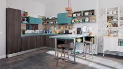 Кухня в ниша по проект
